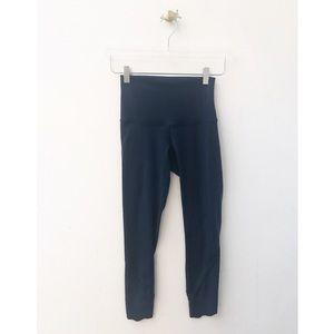 lululemon / align petal teal curved hem leggings